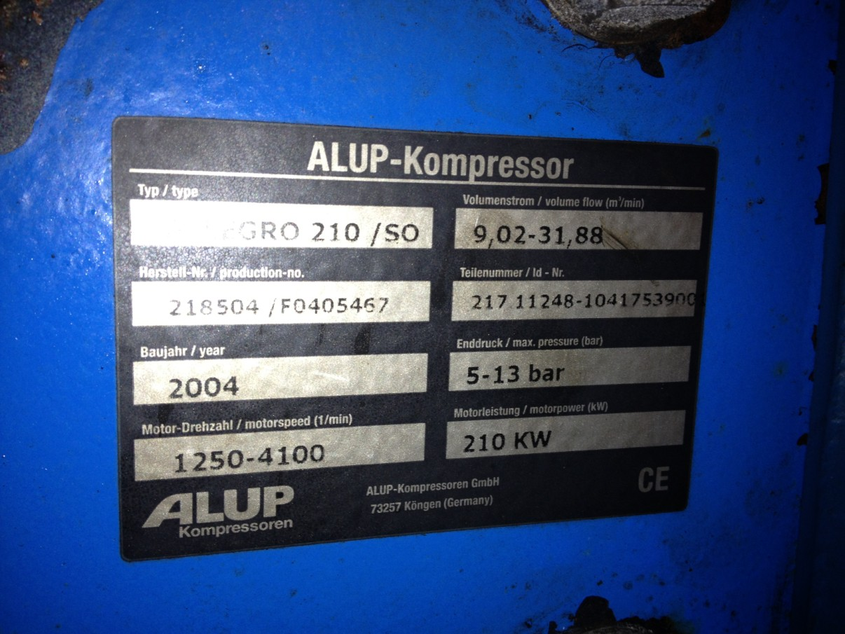 Alup Allegro 210