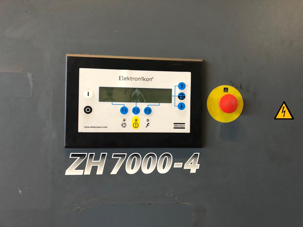 Atlas Copco ZH7000 turbo air compressor