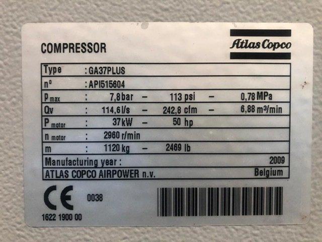 Atlas Copco GA37-FF