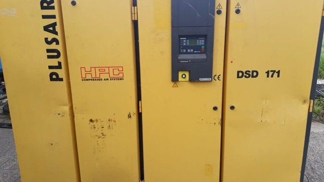HPC DSD171 90kw 12bar 540cfm