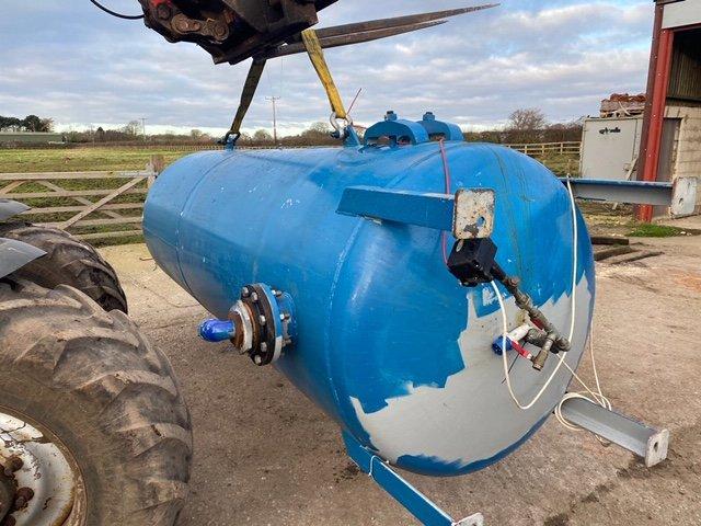 Vertical Air Receiver 4150 litre 10 bar 2002