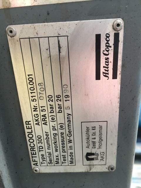 Atlas Copco TD300 Airblast Aftercooler 230v single phase 363cfm