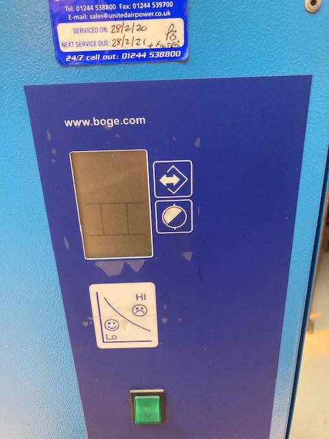 BOGE DB130  460cfm refrigerant air dryer