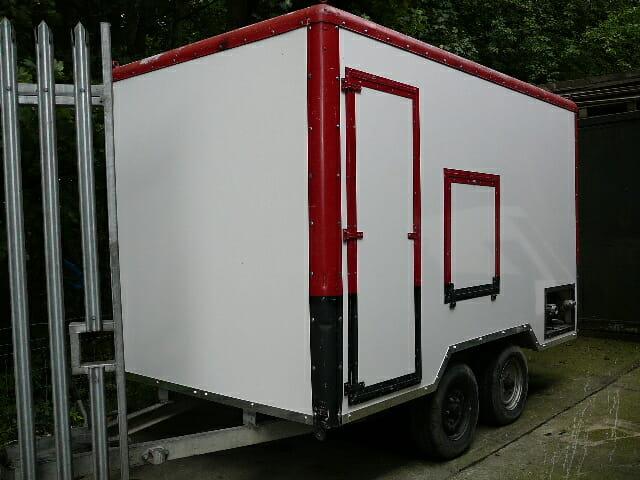 Domnick Hunter Mobile Dryer Hire Unit