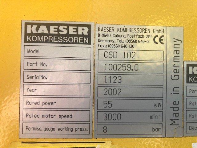HPC CSD102 55kW 8bar 358cfm