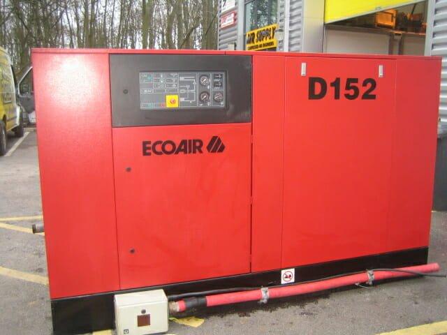 Ecoair D152 (Ingersoll Rand ML110 in red) BREAKING FOR SPARES MOTOR U/S