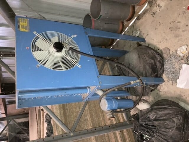 Aftercooler 200cfm with water trap