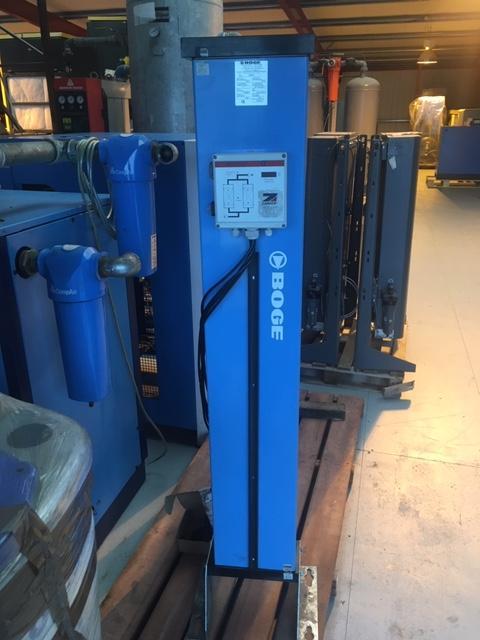 Boge DAZ 14 Desiccant Air Dryer 50 CFM -40 Degree Dewpoint