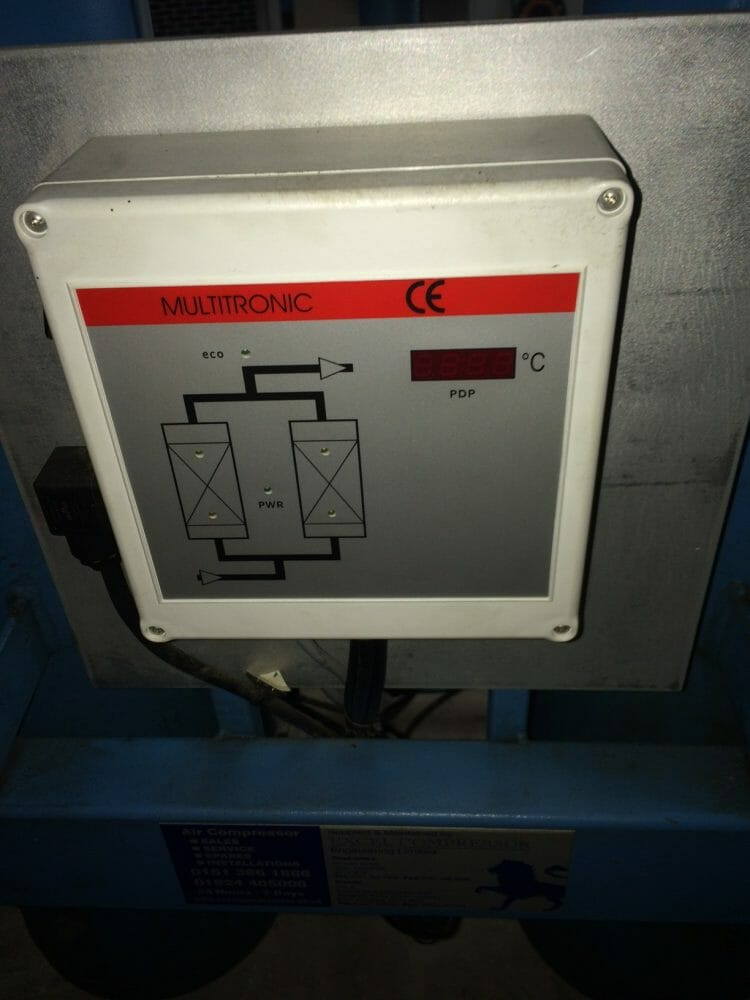 Hankison DK420-2  246cfm adsorption air dryer
