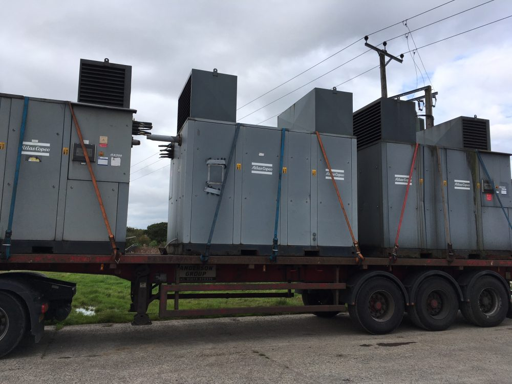 Atlas Copco GA200 TWIN AIREND 3.3KV 3 Available LOW HOURS