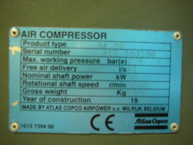 Atlas Copco GA30-FF