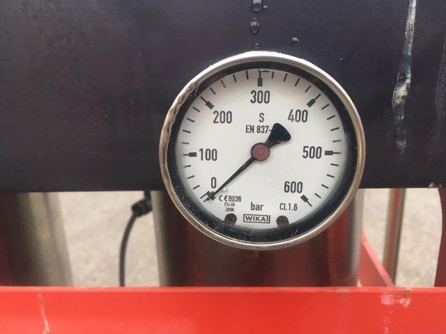 Parker Zander HDK-MT 4/350 High Pressure 41 CFM 350 Bar Desiccant Air Dryer -40 Degrees