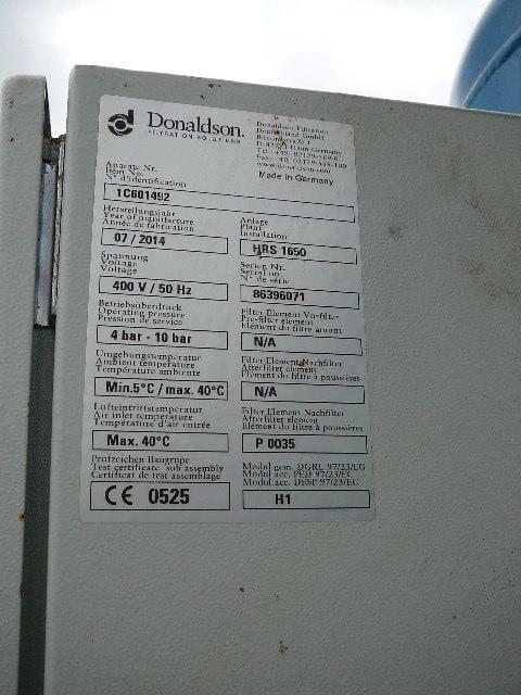 Donaldson HRS1650