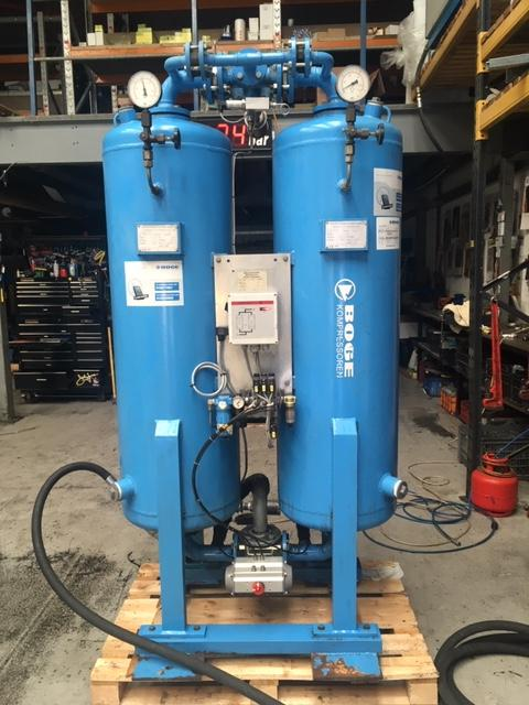 BOGE DA200  Desiccant Air Dryer 705cfm -40C