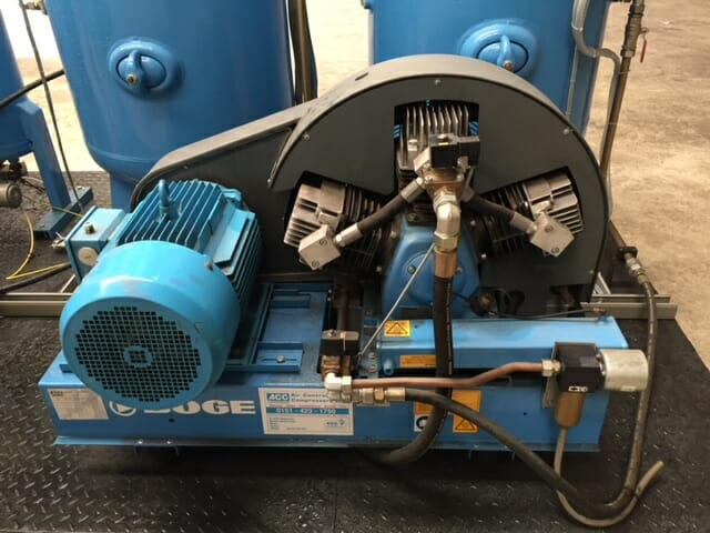 Boge SRHV470-10 40 Bar Booster 164 CFM Desiccant Dryer Filters