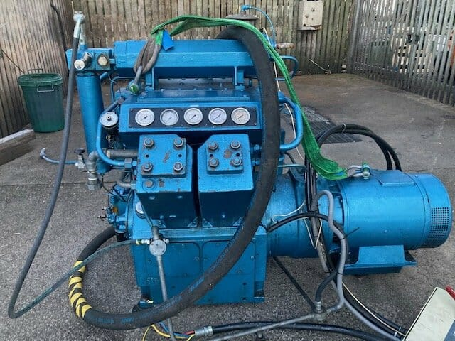 Compair Reavell 5000  300bar 45kW used high pressure air compressor for sale