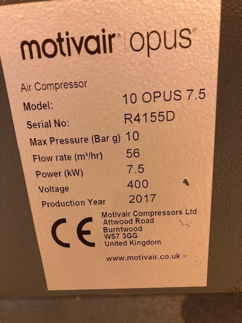 MOTIVAIR OPUS 7.5-200D/10
