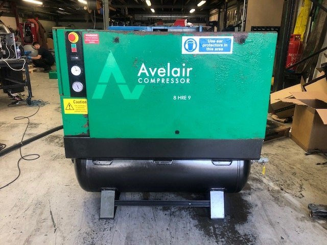 Avelair 8 HRE 9 11kw 8 Bar 58 CFM