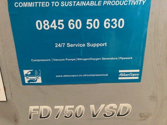Atlas Copco FD750VSD Refrigerant air dryer