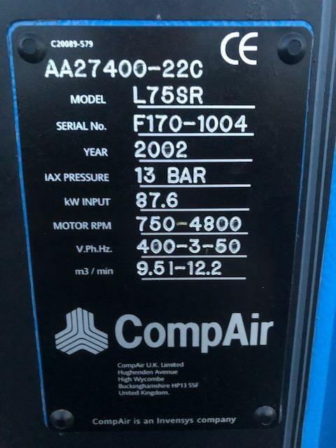 Compair L75 SR 13 Bar 2002