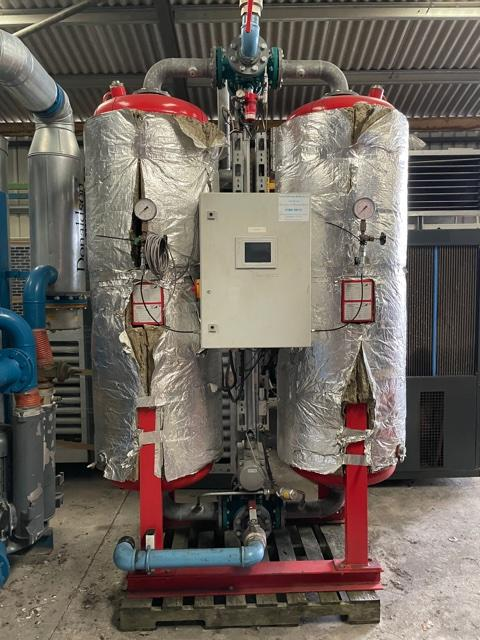 Domnick Hunter DTV 55 1165 CFM Desiccant Air Dryer Heat Regen Zero Purge