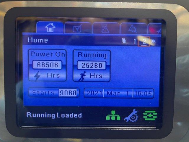 INGERSOLL RAND R110N 110Kw 765 CFM 10 BAR Variable Speed Low Hours