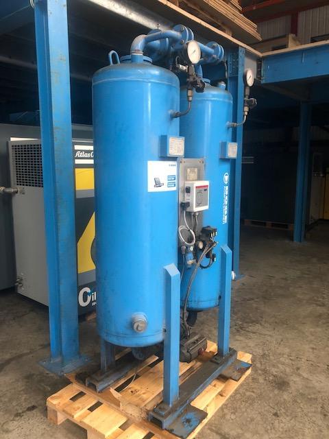 BOGE DA200  681cfm heatless desiccant air dryer