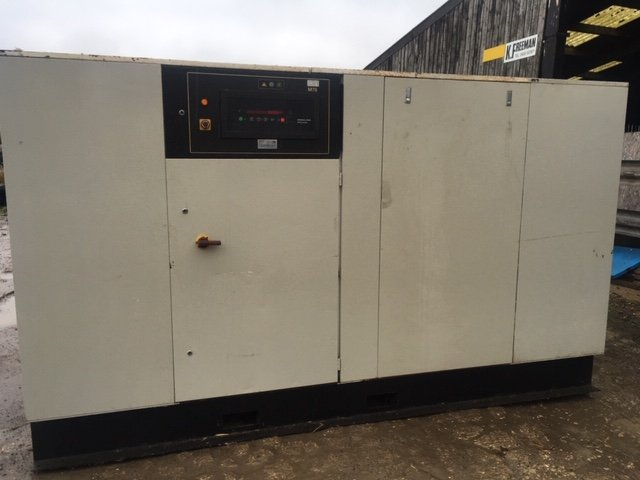 Ingersoll Rand ML75 2S Twin Stage Screw Compressor