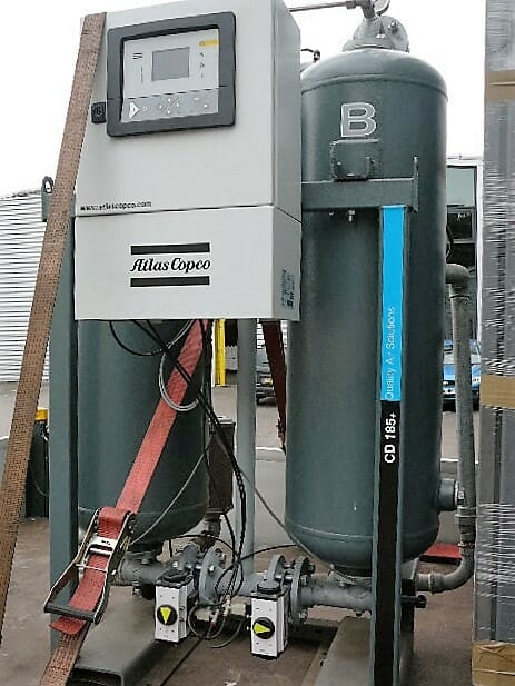 Atlas Copco CD185+ adsorption air dryer