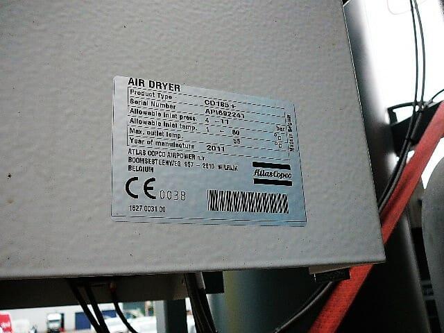Atlas Copco CD185+ adsorption air dryer
