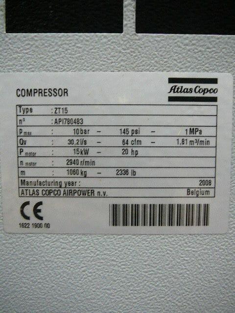 Atlas Copco ZT15