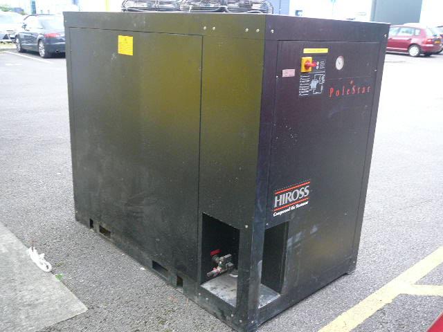 Hiross PGN600 air cooled refrigerant air dryer