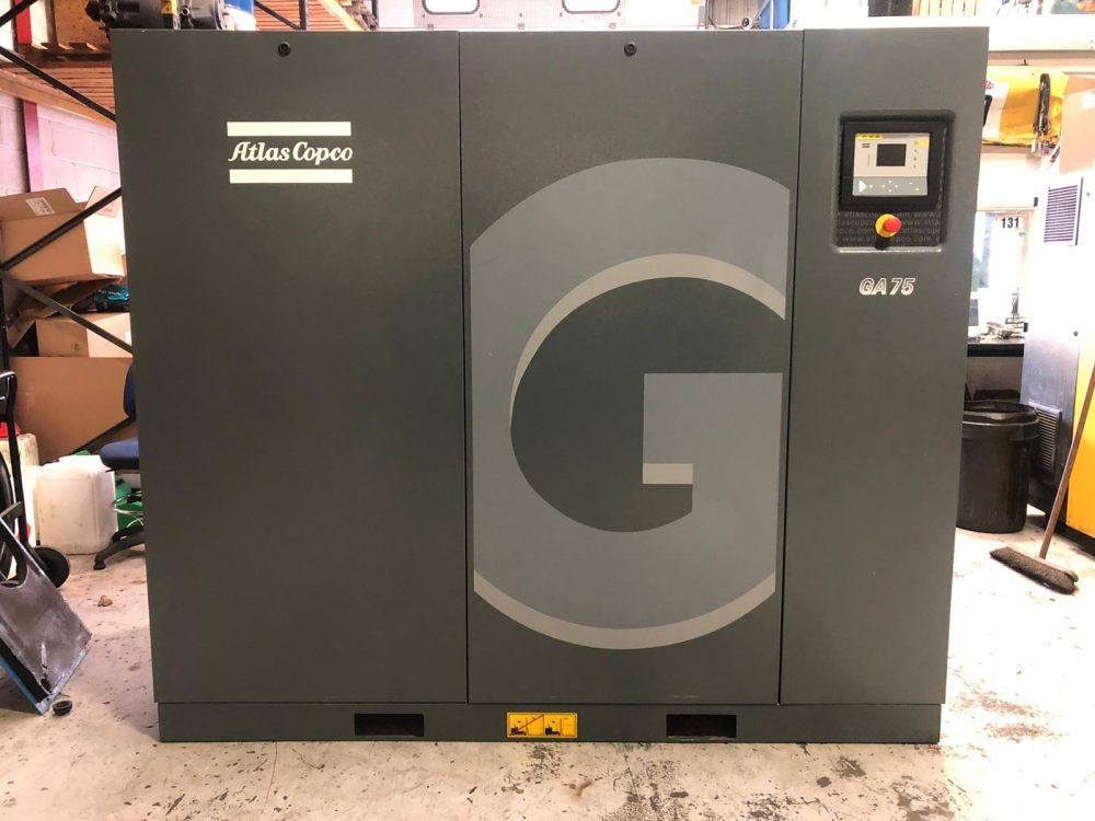 Atlas Copco GA75 2017 75kw 7.5 Bar 473.8 CFM