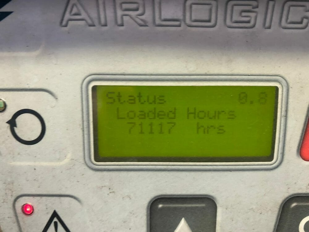 Worthington RLR 50 V 37kw Variable Speed Drive 9.5 Bar