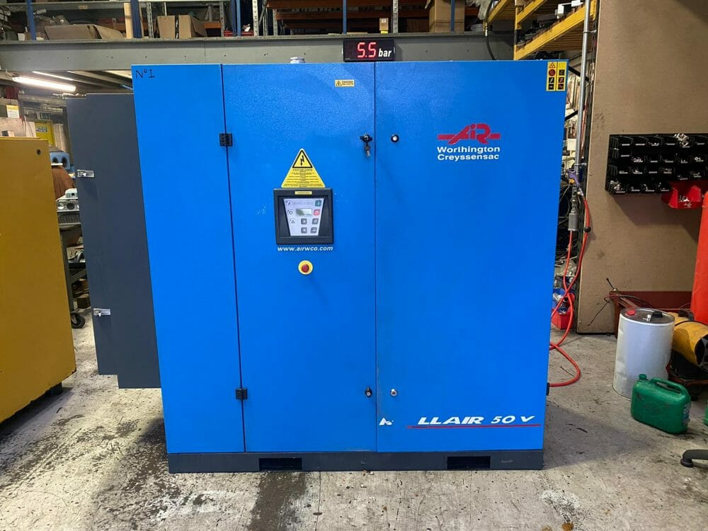Worthington RLR 50 V 37kw Variable Speed Drive 9.5 Bar