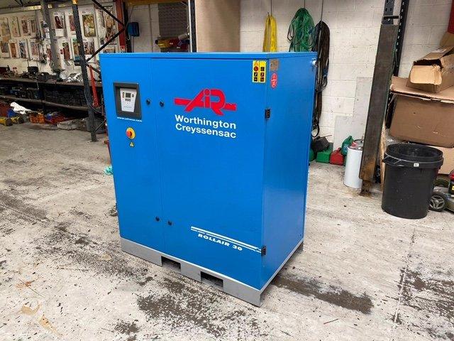 Worthington RLR30 10 bar 114cfm