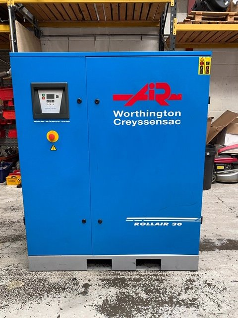 Worthington RLR30 10 bar 114cfm