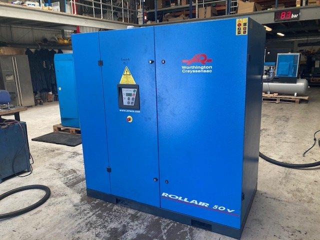 Worthington RLR50V  variable speed drive 37kW screw compressor