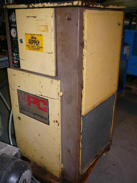 HPC SK11 10hp 40cfm hire compressor