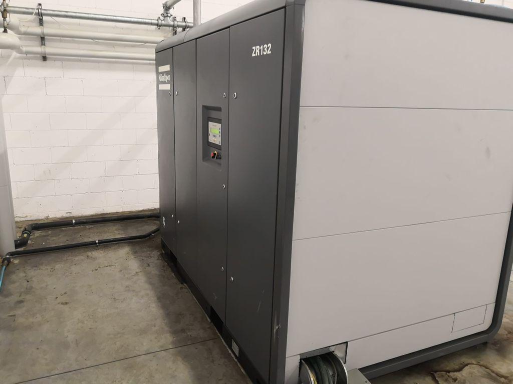 Atlas Copco ZR132 oil free air compressor