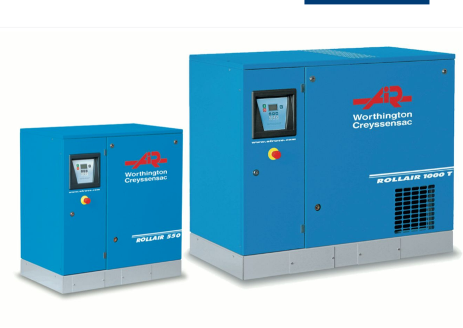 Rotary Screw Compressors From Air Supply UK