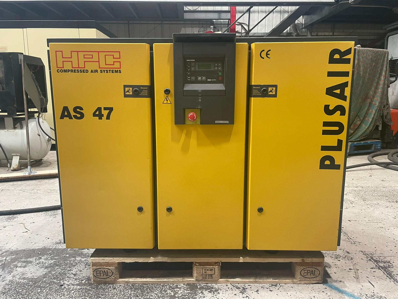 HPC AS47 30kW LOW HOURS