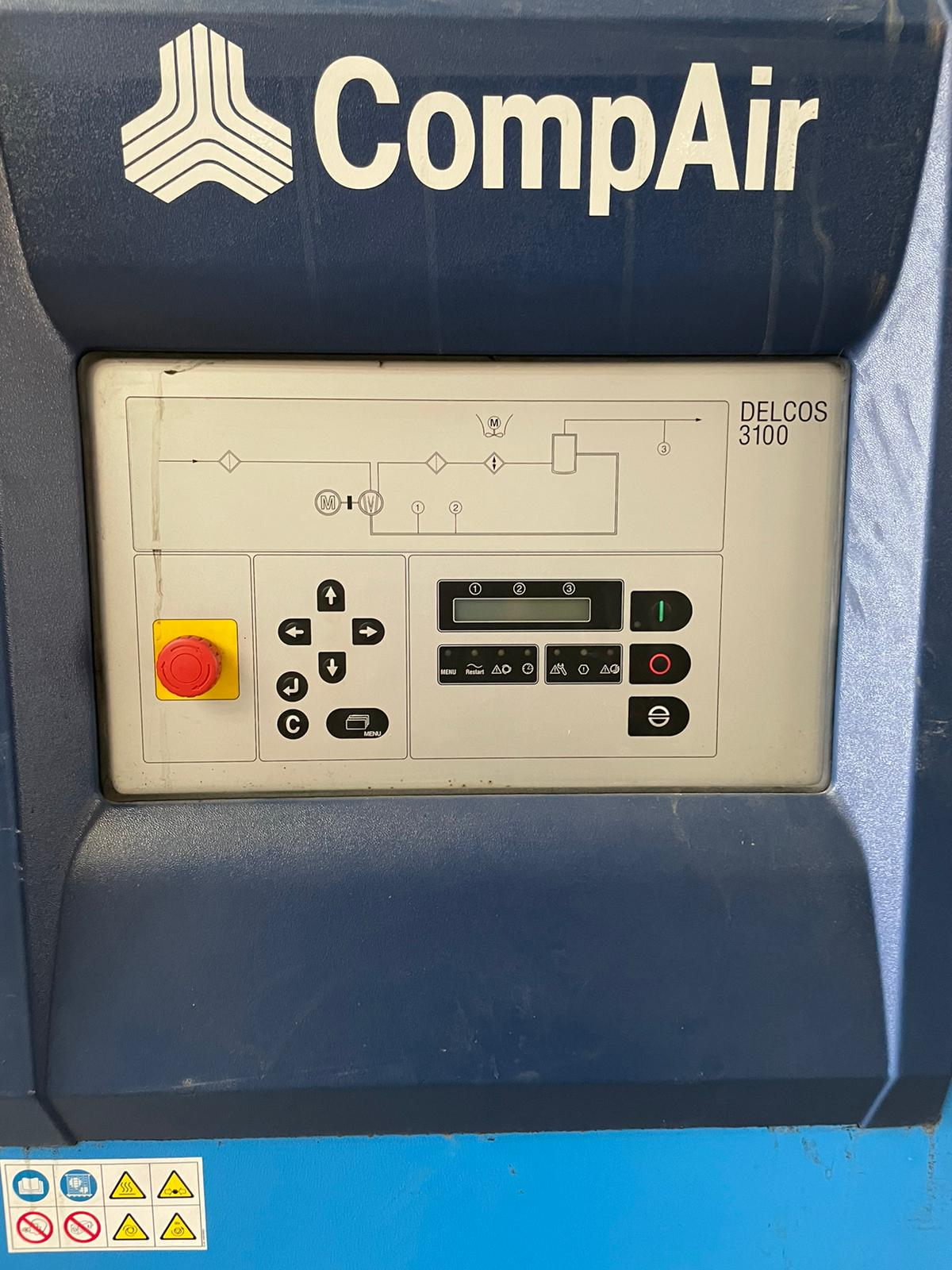 Compair D37SR  37kW oil free variable speed air compressor