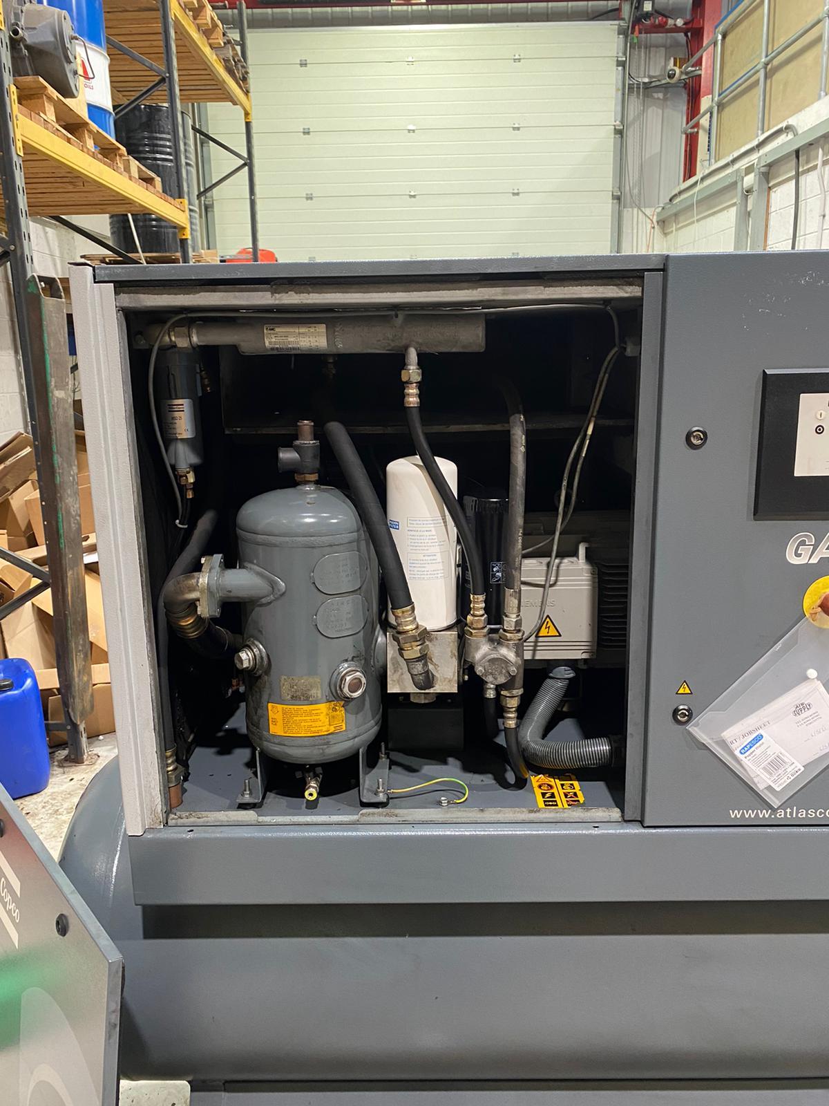 GA15-500-10  15kW 10bar 500 litre receiver