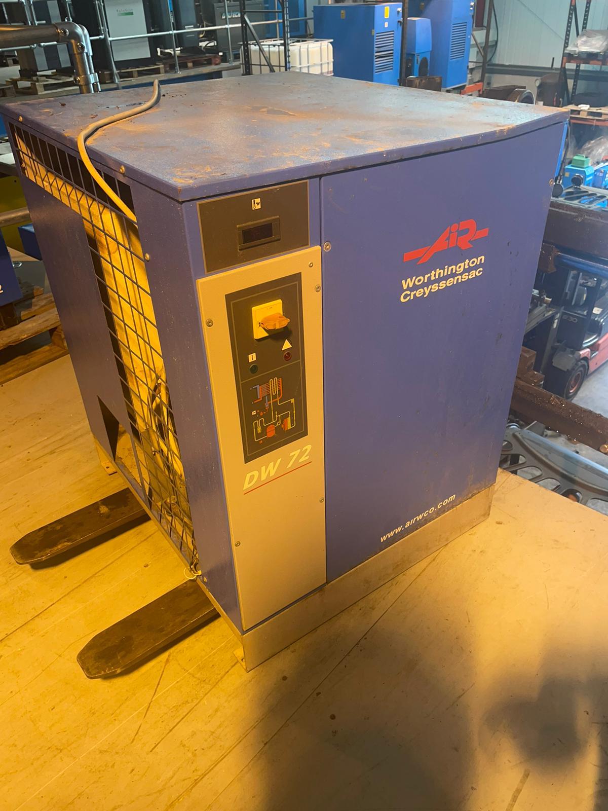 Worhtington DW72 424cfm refrigerant air dryer