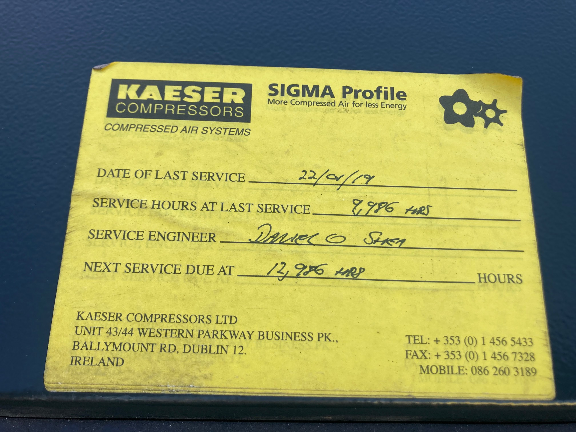 KAESER EBS380M Blowers