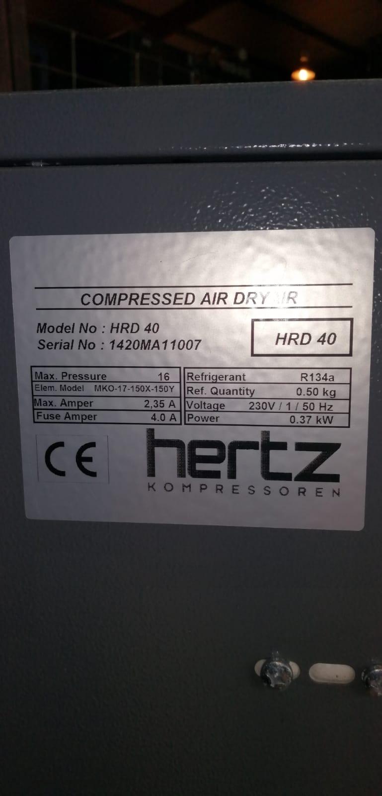 Refrigerant Dryer HRD40
