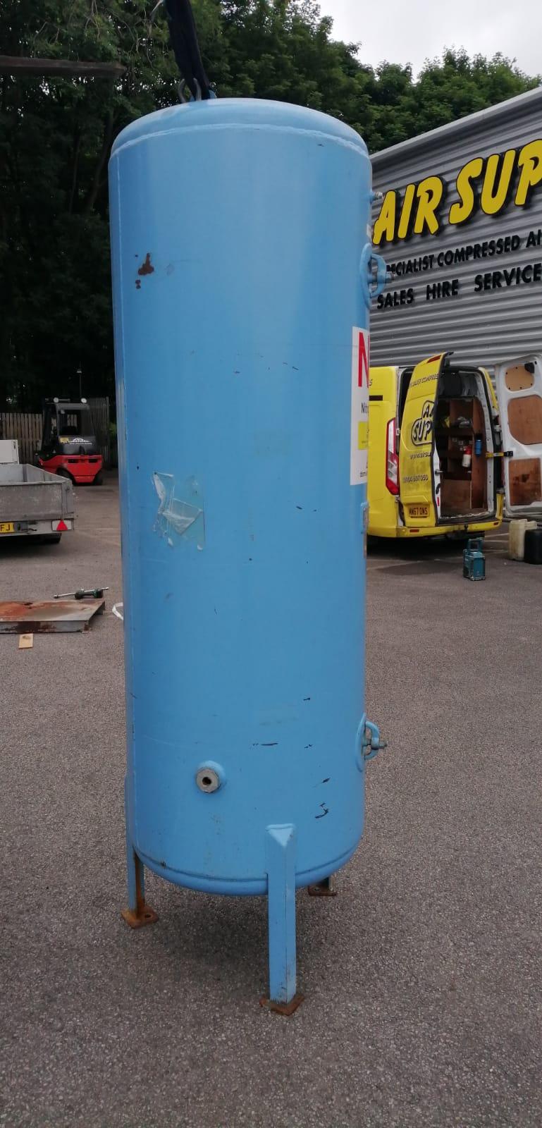 1000 Litre vertical air receiver 11bar