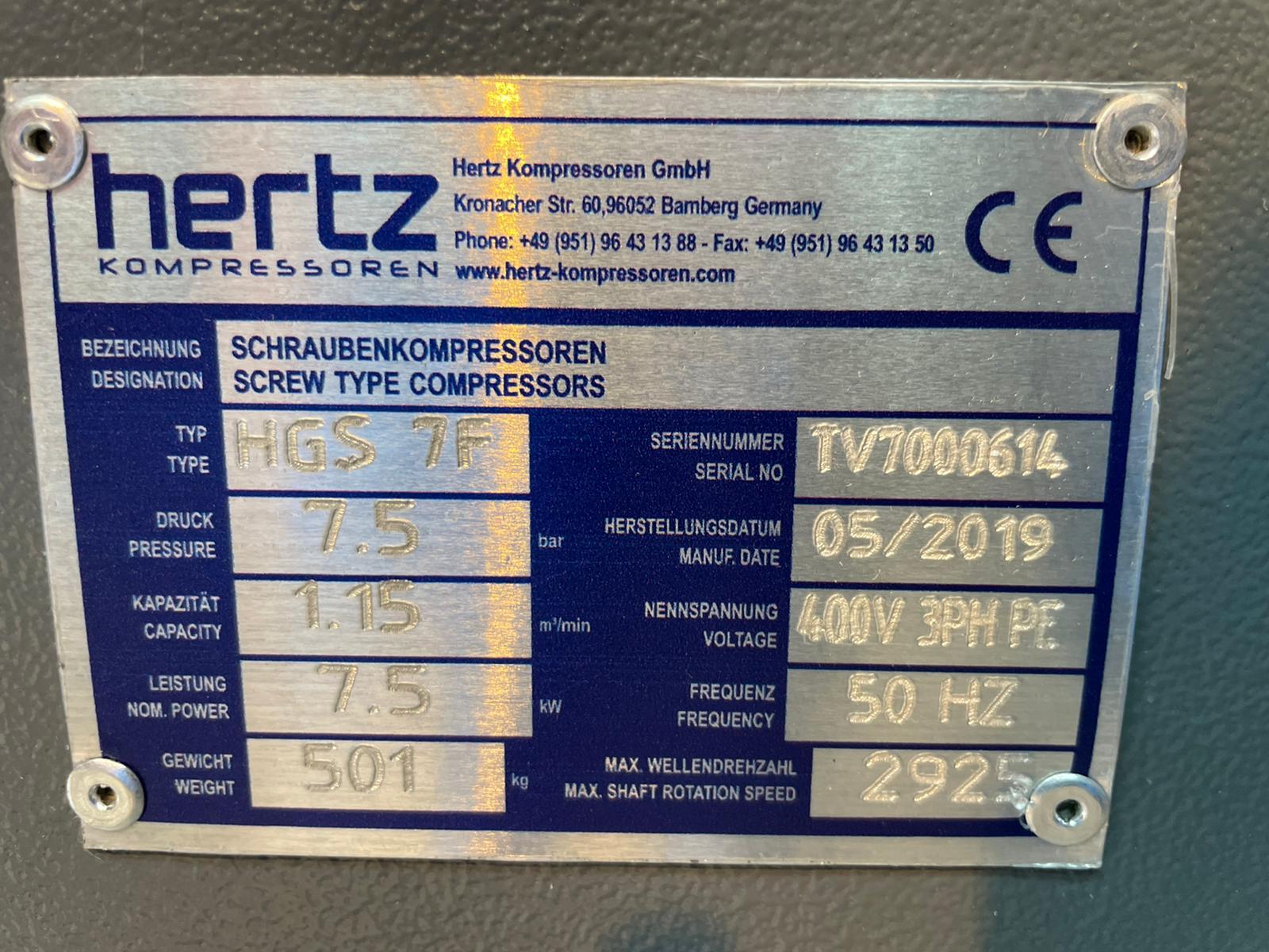HERTZ HGS7F