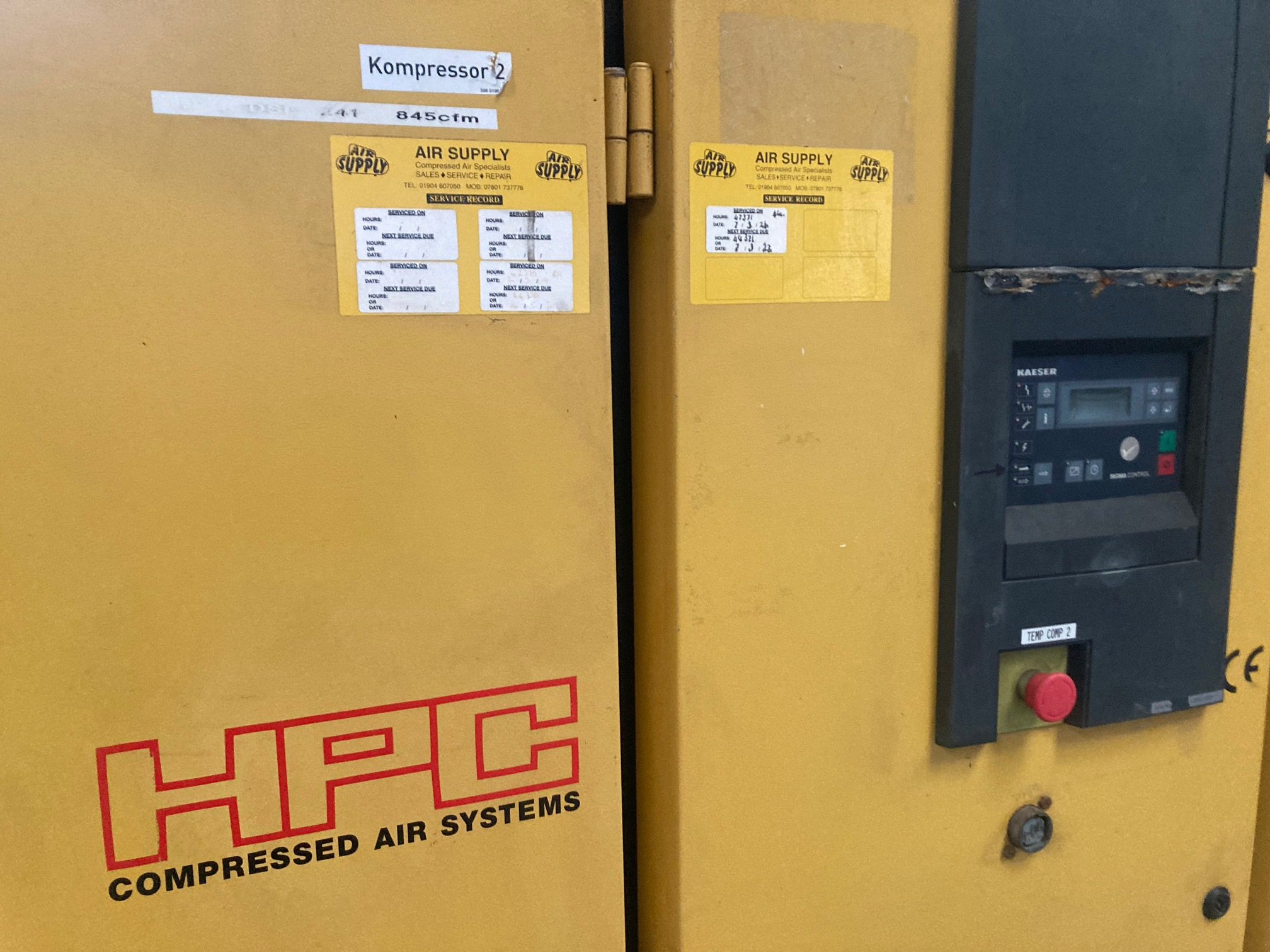 HPC DSD241 for hire only